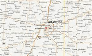 fort wayne map travel map vacations travelsfinders