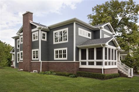 custom craftsman home exterior craftsman exterior chicago by great rooms designers