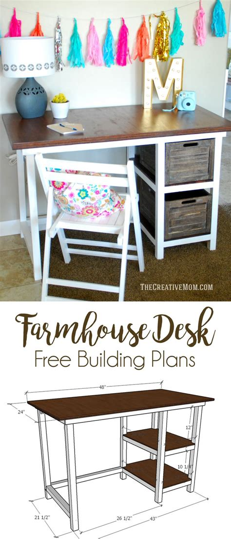 diy student desk 17 best images about home office on storage bins diy desk and white
