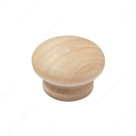 Decorative Wooden Knobs by Classic Wood Knob Bp4301 Bp43012150 Richelieu Hardware
