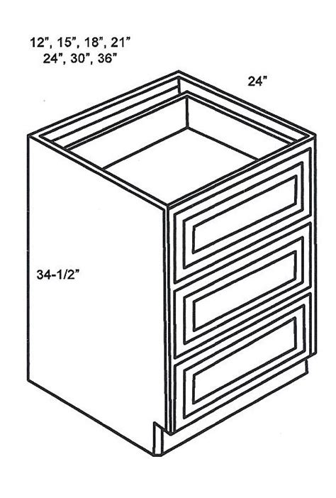3 drawer kitchen cabinet db18 3 base cabinets drawer base cabinet white