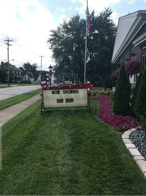 the local funeral home honoring his wishes pic