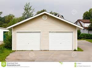double garage design freestanding double garage stock images image 21188654