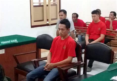 Tv Mobil Di Medan teror penembakkan mobil di medan tersangka divonis 5 tahun penjara okezone news