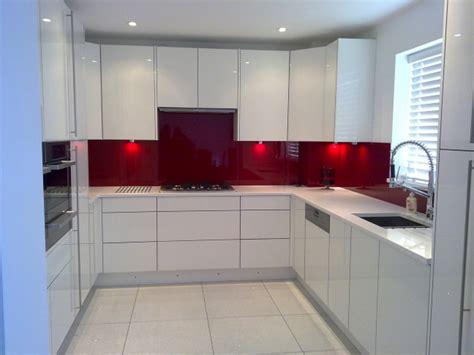 white kitchen with pink splashback photo gallery best quality fitting ltd