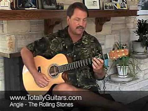 tutorial guitar angie the rolling stones angie tutorial doovi