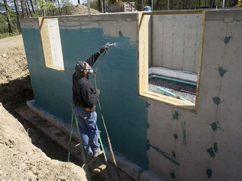 waterproofing exterior basement walls home design ideas
