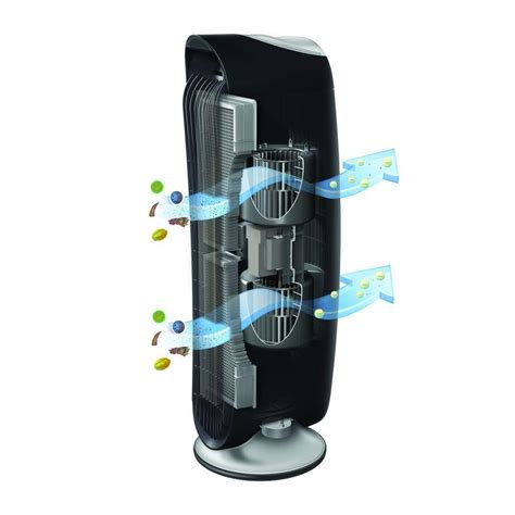 honeywell hfd   quietclean tower air purifier permanent washable filters honeywell
