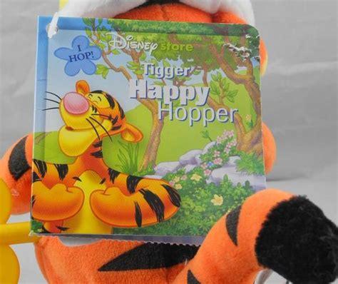 Pita Grosgrain Import 22cm Pooh Tiger tigger easter happy hopper wind up plush stuffed animal