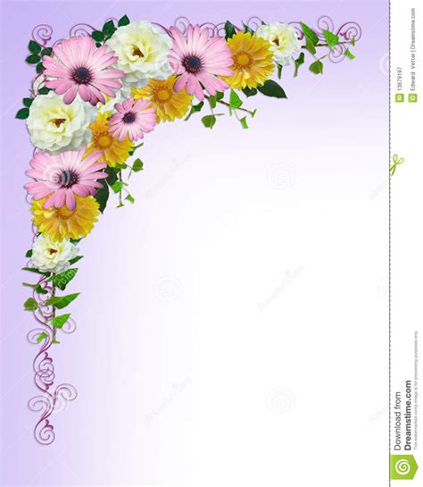 flower border template free coloring pages of border