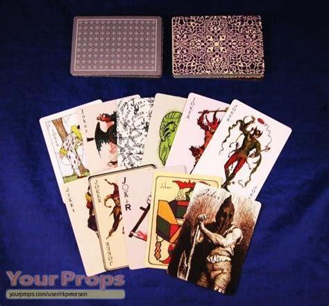 deck of joker cards the all jokers card deck replica prop