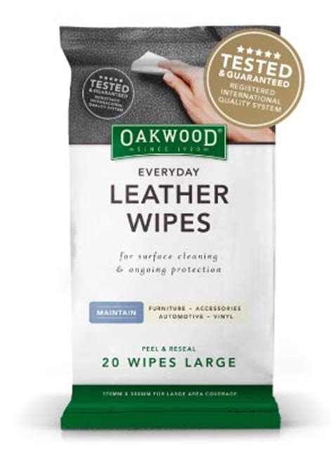 leather sofa cleaning wipes everyday leather wipes oakwood household product range