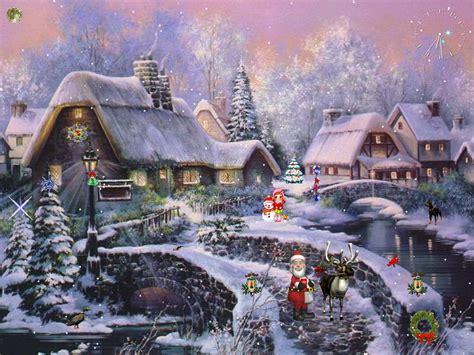 christmas themes animated animated christmas backgrounds christmas desktop