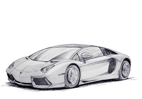 Lamborghini Drawing Lamborghini Aventador Lp700 4 By Samanth406 On Deviantart