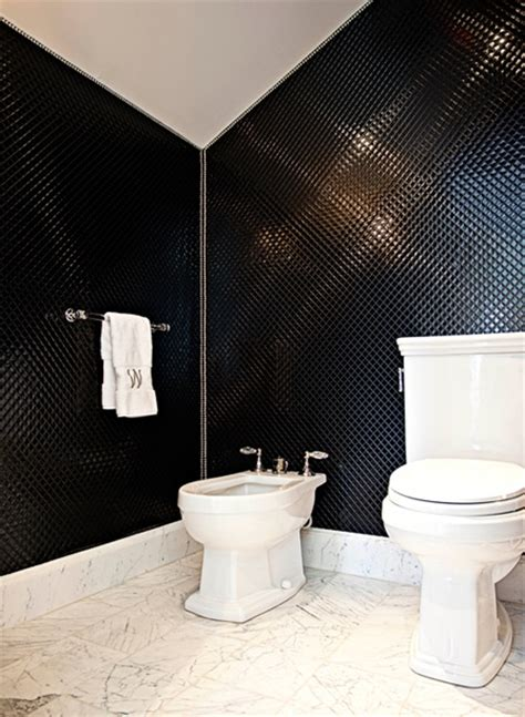 black and white bathroom contemporary bathroom