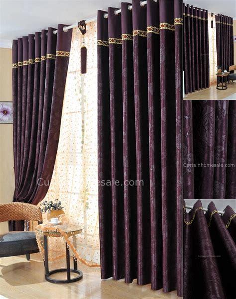 professional dark purple bedroom curtains  suitable  living room