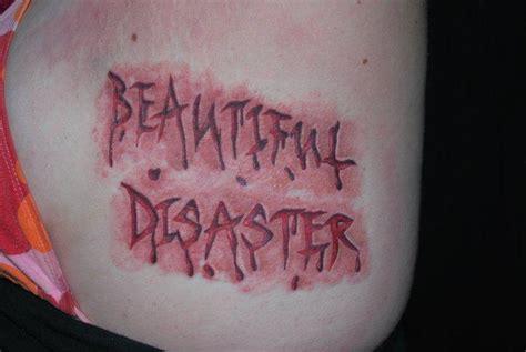 tattoo lettering scab cut skin by jen white tattoonow
