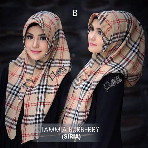 Pusat Grosir Baju Muslim Syari Buble 1 jual model jilbab terbaru jilbab burberry by flow