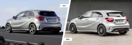 mercedes a class facelift vs new carwow