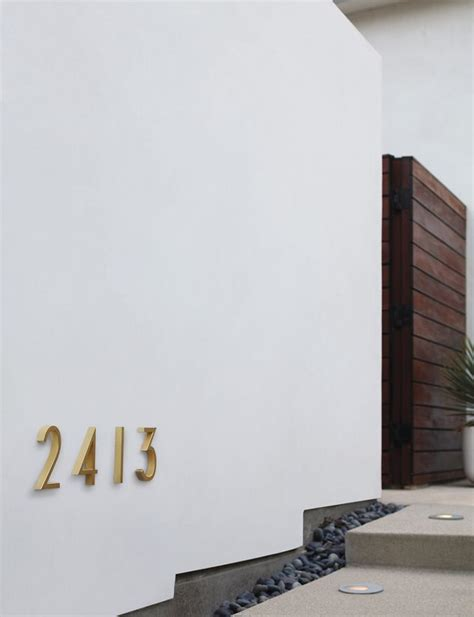 design within reach font neutra modern house numbers herman miller