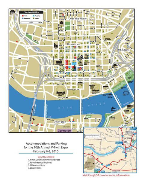 maps cincinnati cincinnati ohio restaurant map cincinnati mappery