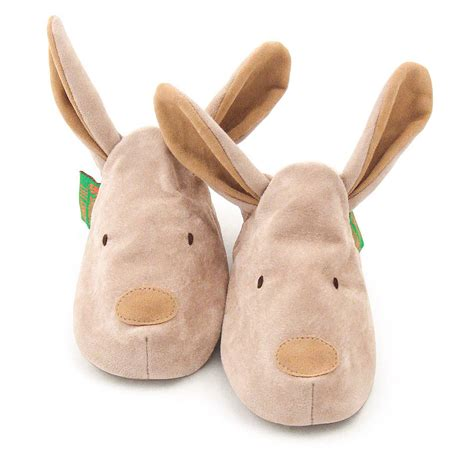 funky slippers easter bunny rabbit soft baby shoes by funky fashions