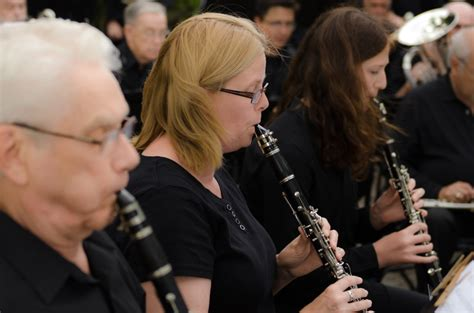 clarinet section welcome penticton concert band