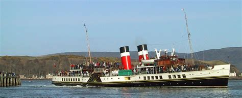 the waverley steam boat sail on the waverley welcome to the isle of cumbrae