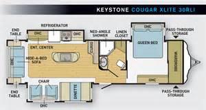 Cougar Floor Plans by The Great Pretender Keystone S Cougar Xlite 30rli Www