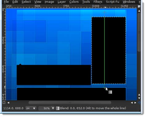 image grid layout gimp how to make a grid like youtube channel layout in gimp