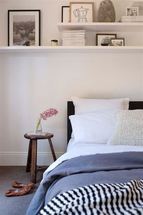 bedrooms   shelves over bed   Daily Home Decorations