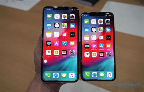 on iphone xs apple iphone xs and iphone xs max gallery slashgear