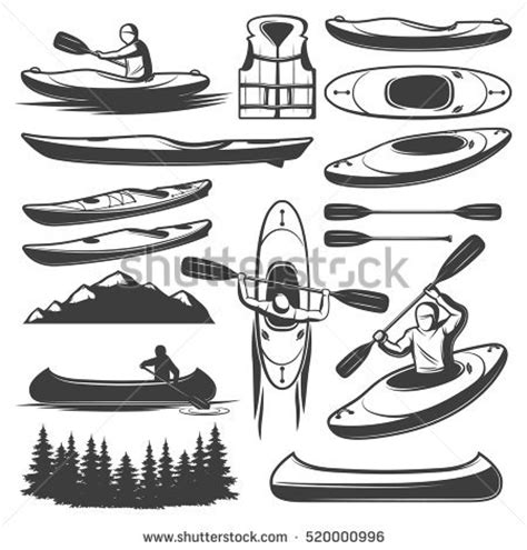 canoes vector canoe stock images royalty free images vectors
