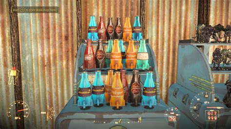 bobblehead rack fallout 4 functional display stands model robots nuka cola etc at