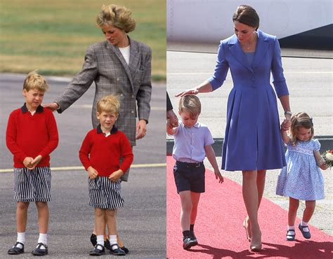 princess diana s children princess diana and v duchess kate in pictures how do the