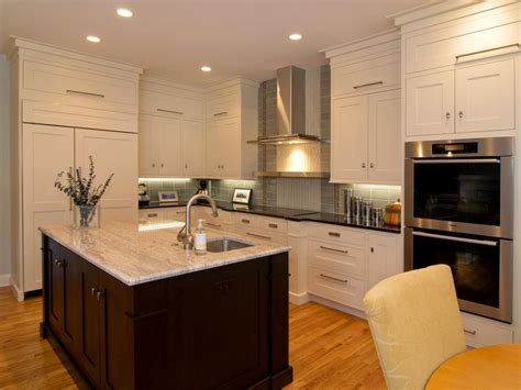 shaker style kitchen cabinets white shaker kitchen cabinets pictures ideas tips from hgtv