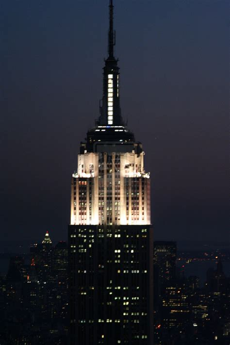 Building Style by Empire State Building Night By Flo1895 On Deviantart