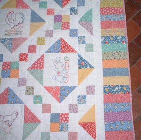Key Quilt Pattern by Piano Key Border Focus On Quilt Borders