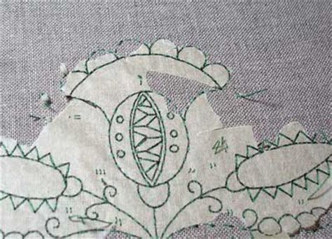 pattern transfer paper for fabric transferring an embroidery pattern using tracing paper