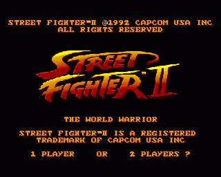 emuparadise the warriors street fighter ii the world warrior rom