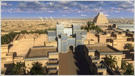 town of babylon section 8 majesty of ancient babylon shown via superb 3d animations