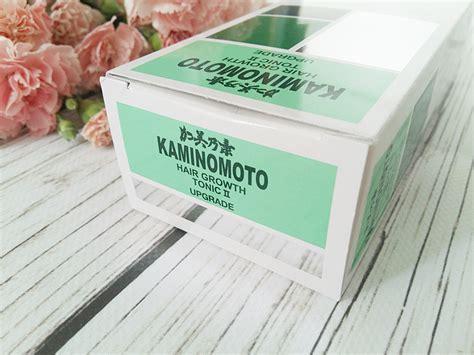 Kaminomoto Hair Growth Tonic 2 Upgrade o w蛯osach piel苹gnacja w蛯os 243 w cienkich i delikatnych