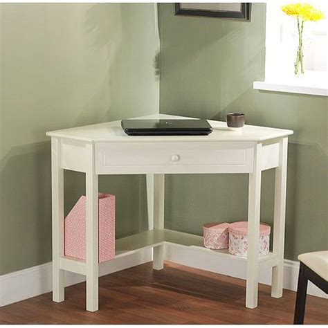 corner desks for small spaces corner writing desk walmart com for a small