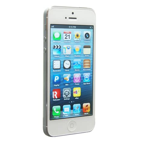 Apple Iphone 5 new apple iphone 5 32gb white silver unlocked smartphone
