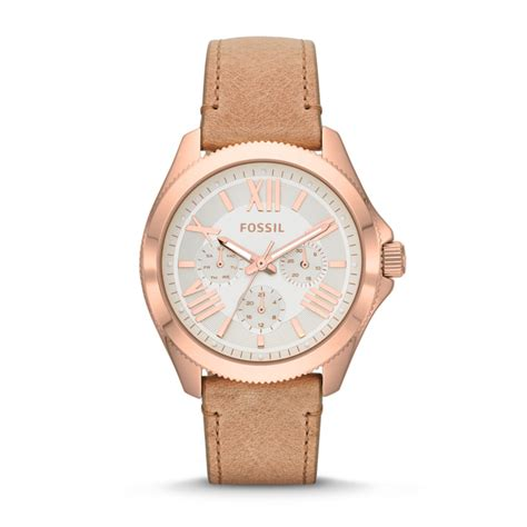 Fossil Cecile Multifunction Am4511 fossil cecile multifunction leather sand am4532