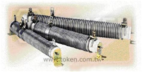 edge wound power resistors tubular edge wound power resistor dst token components