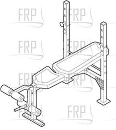 weight bench replacement parts weider pro 250 831 157070 fitness and exercise