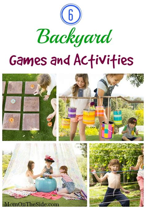 backyard science games 6 backyard games and activities for kids
