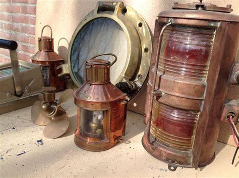 scheepsonderdelen te koop 7 x koperen scheepsonderdelen 2e helft 20e eeuw catawiki