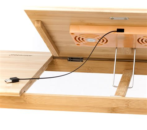 bamboo stand up desk natural bamboo tablet laptop up to 15 in stand